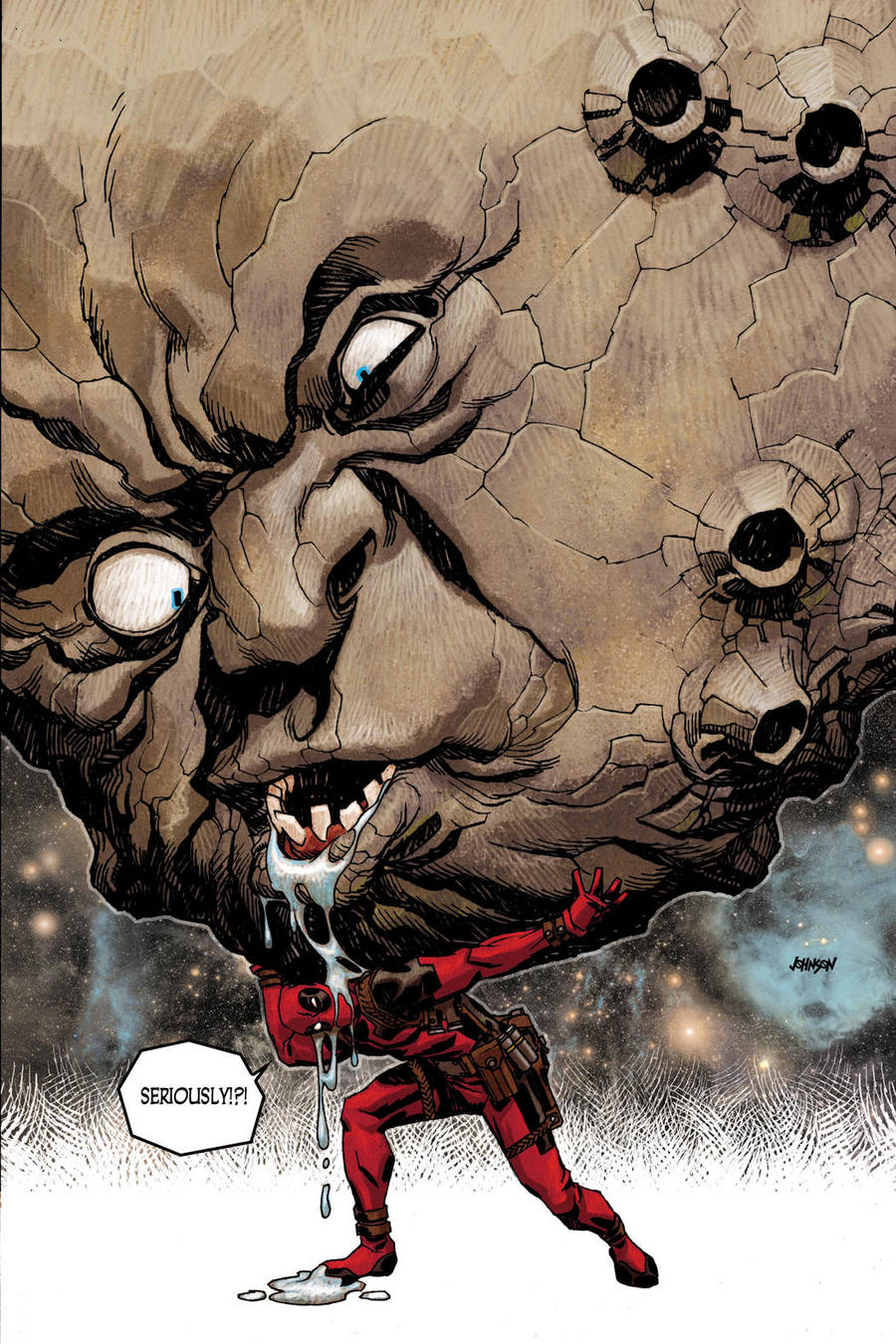 Deadpool 34 by Devilpig