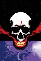 Batman Flashpoint cover no. 2 by Devilpig