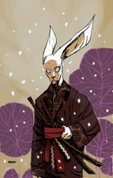 Usagi Yojimbo for Comic Twart by Devilpig