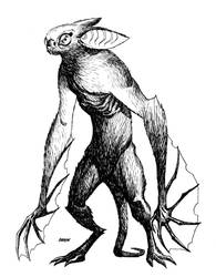Bunny-Bat-Man by Devilpig