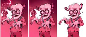 Frankenberry box art by Devilpig