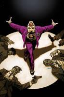 Joker/Grason variant cover by Devilpig