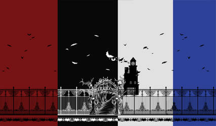 Arkham Asylum Fabric by sirenlovesyou