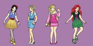 Disney Princesses 1 by sirenlovesyou