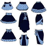 Tardamask Skirts by sirenlovesyou
