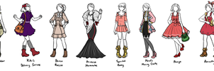 Studio Ghibli Designs by sirenlovesyou