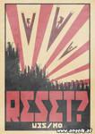 The Editors - Reset? - Propaganda Poster by slicedguitars