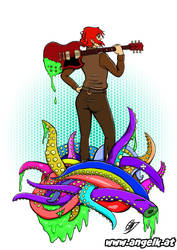 Tentacle Slayer by slicedguitars