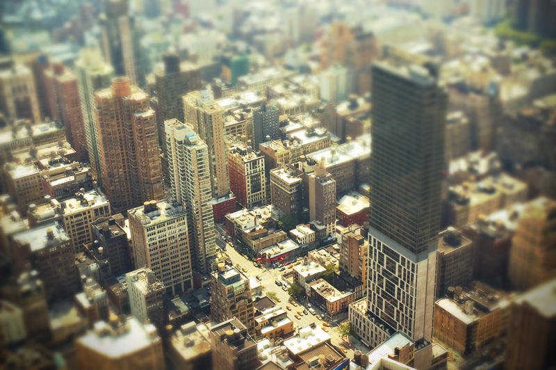 NYC Tilt Shift by JewItUp