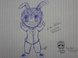 Bilbo the Rabbit by Ale-Hoku