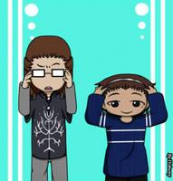 Elwe y Alejandra [Yo] by Ale-Hoku
