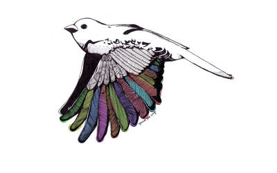 The Little Sparrow III by jayblue9