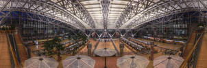 Hamburg Airport - HDR Panorama by TiKy2010