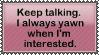 Keep talking by SirvanaRachana