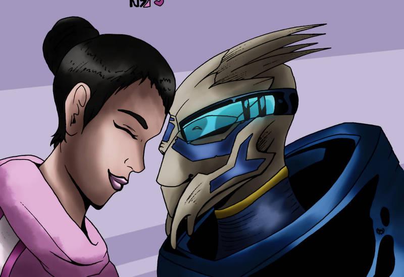 Peacewalker and Archangel by FlorTheWriter