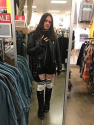 Goth In the Mirror by Blighttemplar