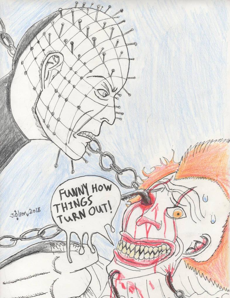 Pinhead: The Last Laugh by Blighttemplar