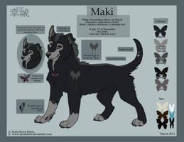 Ref-Sheet: Maki by Sachishiro