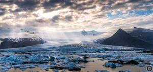 Fjallsarlon Glacier Lagoon, Iceland by marcsharp