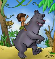 Jungle Book Jungle Friends by Aquamarin