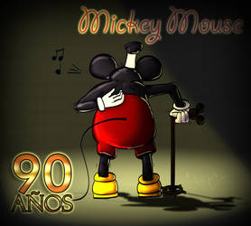 Mickey Mouse 90th Anniversary by Invark