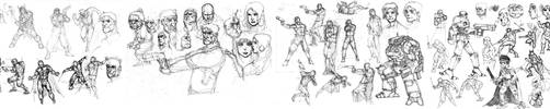 the long stretch of sssketches by yjianlong