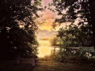 Sunday Sundown by Watizit