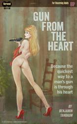 Gun from the heart by BenTanArt