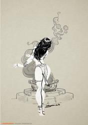Smoke by BenTanArt