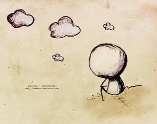 .Cloud-watching. by Nonnetta
