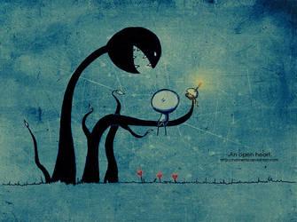 .An open heart. by Nonnetta