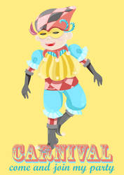 Clown-card by helencung
