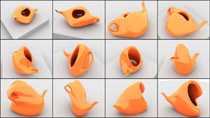 Digital Teapots by shirosynth