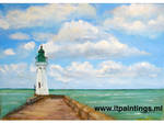 Lighthouse by ITPaintings