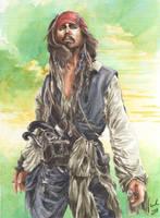 Jack Sparrow by Toradh
