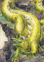 Glaurung the Golden by Toradh