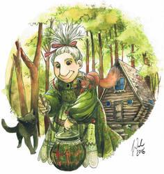 Habrakxa the Witch by Toradh