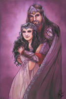 King and Queen by Toradh