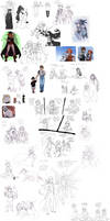 Tales Of Sketch Dump 4 by Toradh
