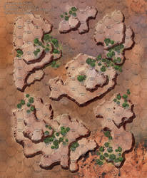 Red Desert Map B by KatWylder
