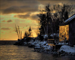 Home on Cold Superior 2 by wb-skinner