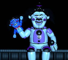 (JOKE) Funtime Freddy in Parts and Service by jorjimodels