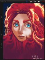 Brave ipad painting by iliasPatlis