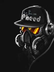 ipad Gas mask design by iliasPatlis