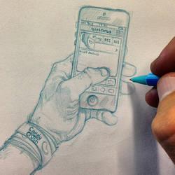 Hand drawn by iliasPatlis