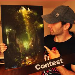 CONTEST: Legend of Zelda Canvas print! by iliasPatlis