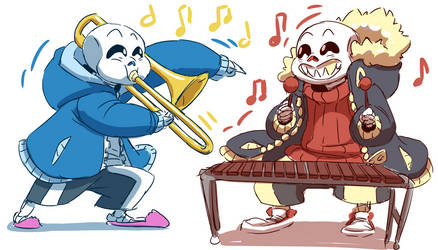 Skeleton Band by Poetax