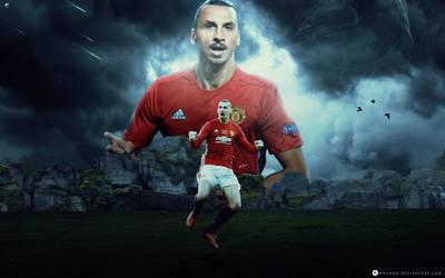 Zlatan Ibrahimovic Ft RonitGFX by WDANDM