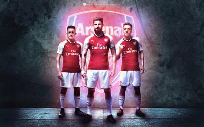Arsenal 2017 by WDANDM