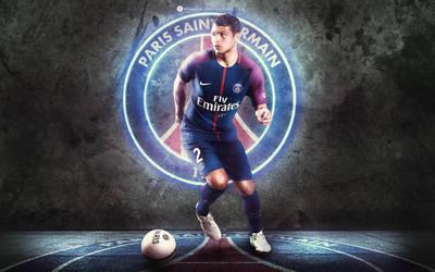 Thiago Silva 2017 by WDANDM